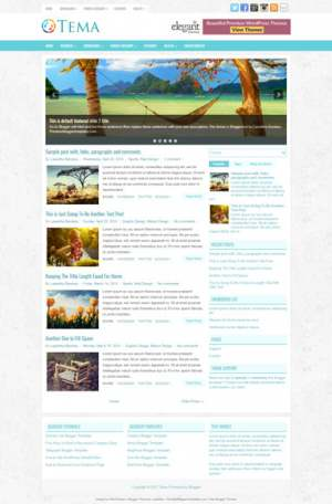 Tema Blogger Template [ blogspot themes ]