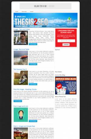 Thesis2 Seo Blogger Template [ blogspot themes ]