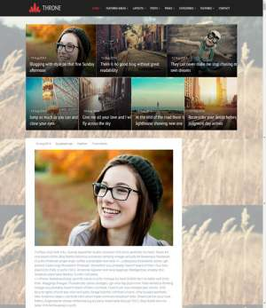 Throne Responsive Blogger Template [ blogspot themes ]
