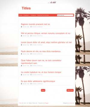 Titles Blogger Template [ blogspot themes ]