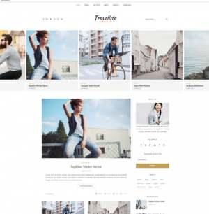 Travelista Tour Blogger Template [ blogspot themes ]