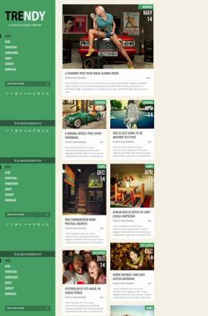 Trendy Red Responsive Blogger Template [ blogspot themes ]