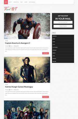 Vcol Blogger Template [ blogspot themes ]