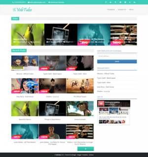 VebTubeBlogger Template [ blogspot themes ]
