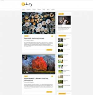 Velocity Blogger Template [ blogspot themes ]