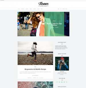 Vienna Blogger Template [ blogspot themes ]