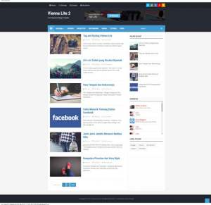Vienna Lite 2 Blogger Template [ blogspot themes ]