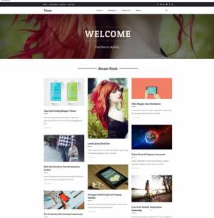 View Blogger Template [ blogspot themes ]