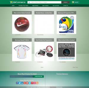 WeCommerce Responsive Blogger Template [ blogspot themes ]