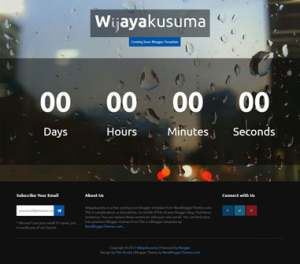 Wijayakusuma soonBlogger Template [ blogspot themes ]