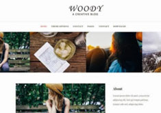 Woody Blog Blogger Template [ blogspot themes ]