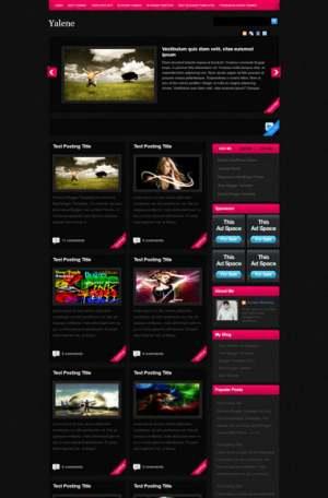 Yalene Blogger Template [ blogspot themes ]