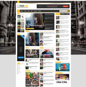 YourMag Blogger Template [ blogspot themes ]