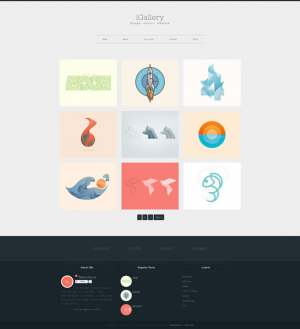 iGallery Blogger Template [ blogspot themes ]