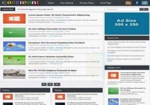 Googleont ResponsiveBlogger Template [ blogspot themes ]