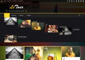 Le Tour Blogger Template [ blogspot themes ]