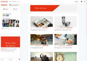 The Next Web Responsive Blogger Template [ blogspot themes ]