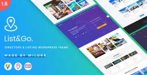 [Premium] ListGo WordPress Theme