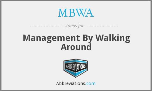 MBWA – Quản lý đi dạo