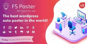 FS POSTER plugin social share + thuốc
